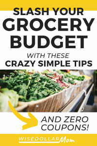 Need to finally feel confident grocery shopping on a budget? Learn how to save money on groceries without coupons. Yes! This comprehensive guide will equip you with the tools you need so your family can eat well for less!