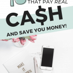 Looking for legit apps that pay real money? These amazing apps will help you earn extra cash for your family. Moms just like you are loving these genius apps that pay you real cash. It's a no-brainer! Which one will you try?