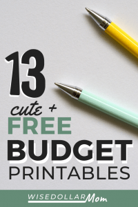 Searching for free printable budget templates? You need budgeting tools with brains and beauty! We've got the best cute printable monthly budget tools. These mom-approved free printable budget planner tools will help you get organized, stay motivated, and rock your family finances. Find the best budget printable for you!