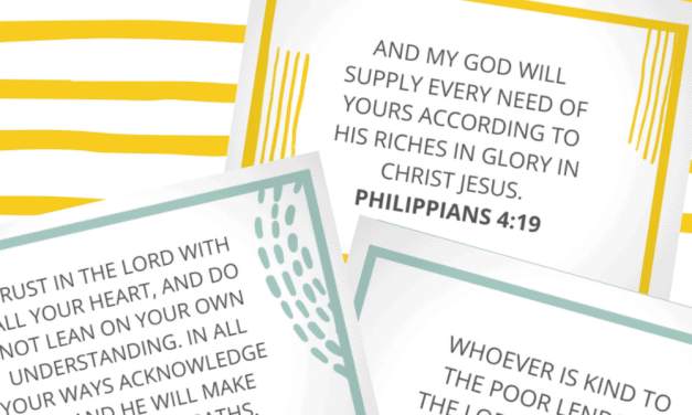 Scriptures on Finances: 40+ Motivating Bible Verses About Debt and Money (Free Printable)