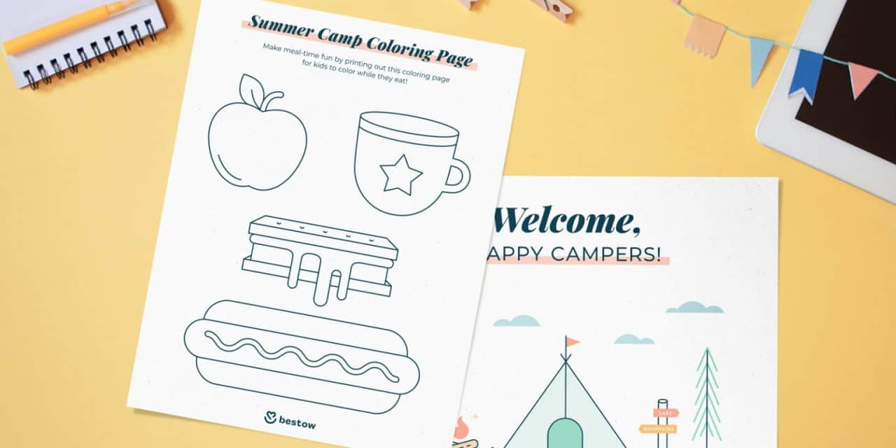 How to Create a Summer Camp In Your Backyard on a Budget (+ Free Printables)