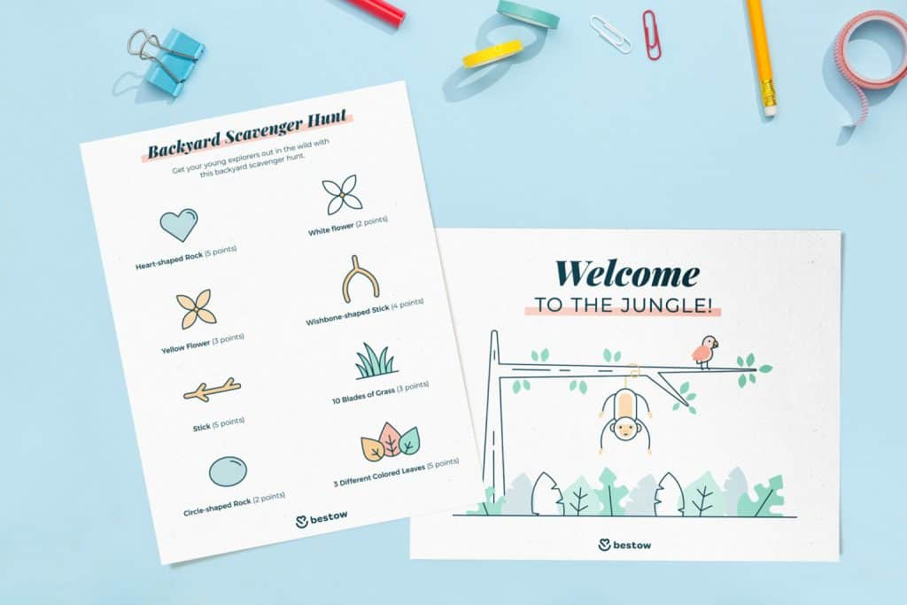 Looking for some summer fun at home? Create a summer camp in your backyard and get inspired by these fun printables!